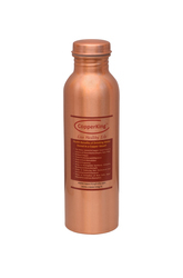 Pure Copper Lacquer Coated Water Bottle