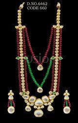 Royal Antique Kundan Necklace Set