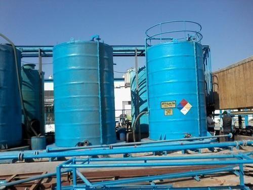 Vertical Acid Storage Tanks