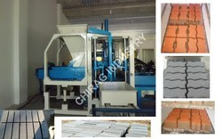 Interlocking Colour Paver Block Plant