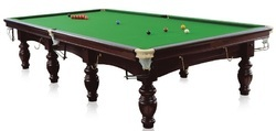 Snooker Table In China Ball
