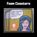 Promotional Foam Coasters