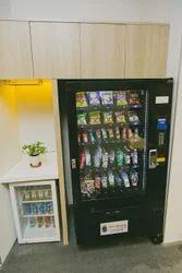 Snacks & Beverages Combination Vending Machine on Rental
