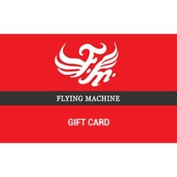 Flying Machine - Gift Card - Gift Voucher