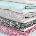Patterned Fouta Diamond Hammam Peshtemal Bath Turkish Towels