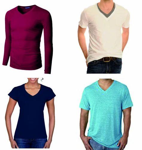 e1a09e802 T Shirts - V Neck T Shirts Manufacturer from Bengaluru