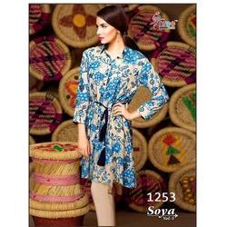 Printed Cotton Suit