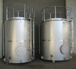 Caustic Storage Tank