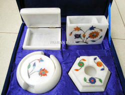 Marble Inlay Gift Set