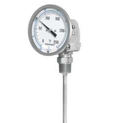 Digital Solar Powered Bimetal Thermometer