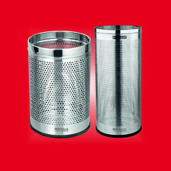 SS Perforated Paper Bin