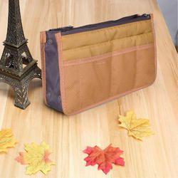 Pockets Storage Bag Double Zipper