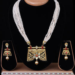 Antique Kundan Mala Set