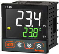 LCD Display PID Temperature Controllers with Large White PV