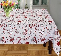 Instruments Printed Table Cloth