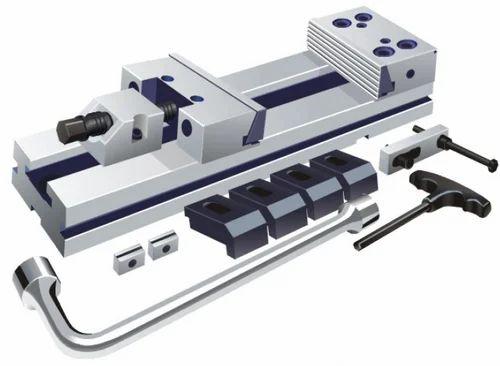 Milling Accessories Precision Modular Machine Vice Manufacturer From Gurgaon