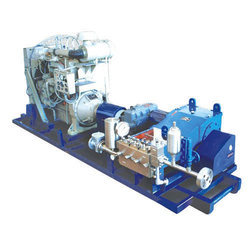 Engine Driven Triplex Plunger Pump