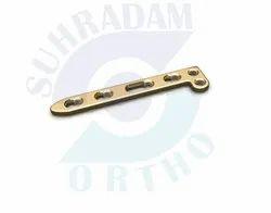 LCP Dorsal Distal Radius L Plate 2.7mm  2 hole head