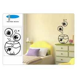 Fish Pond Wall Decal