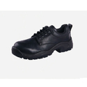 Black Burn Buff Oily Leather Safety Shoe