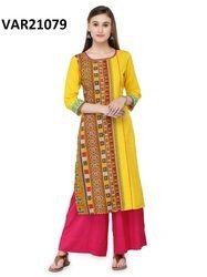 Sleeveless Trendy Rayon Tunics