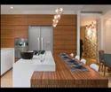 Laminated Texture Kitchen