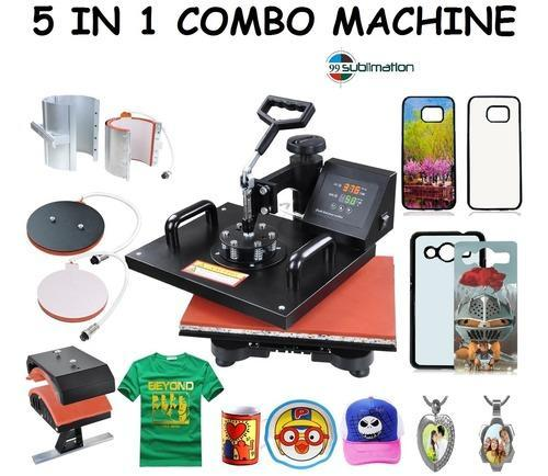 eb824d5a4 Sublimation Machine - 5 In 1 Combo Heat Press Machine Wholesale Sellers  from Indore