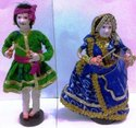 Indian Rajasthani Wedding Doll