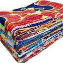 Vintage Lot Kantha Quilt Gudri Handmade Cotton Throw