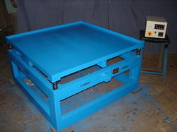 Vibrating Table for Weighing and Filling Systems