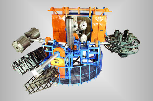 Independent Arm Water Tank Making Machine