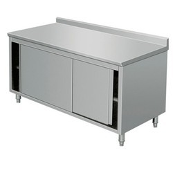 Work Table with Cupboard