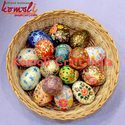 Hand Painted Wooden Eggs - Easter Decoration