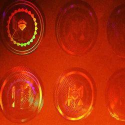 Transparent Tamper Evident Holograms