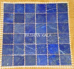Lapis Lazuli Tile Back on Net Mash