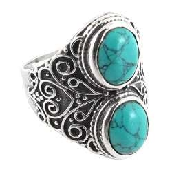 Great 925 Silver Turquoise Ring