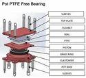 Pot PTFE Fixed Bridge Bearing