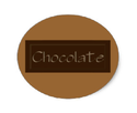 Chocolate Stickers