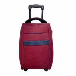 "Cari Maroon Laptop Overnighter Cabin Luggage - 18"" inch"