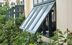 Awning Wooden Window