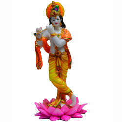 Krishna L Stand Statue