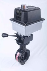 Butterfly Valve With Compact Actuator