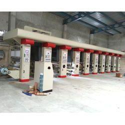 8 Color Rotogravure Printing Press Machine