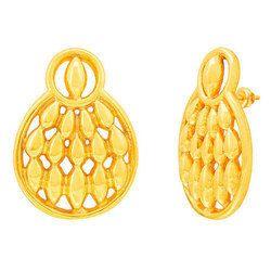 RSBL Criss Cross Gold Earrings