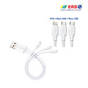 PC 80 Multi USB Cable ( 3 IN 1) Small
