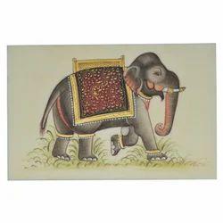 Paper Elephant Painting