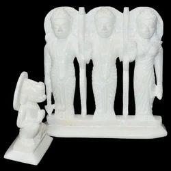Marble Plain Ram Darbar Statue