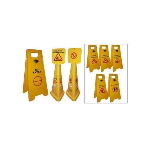 Caution Signs and Caution Wet Floor Wholesale Trader from Pune