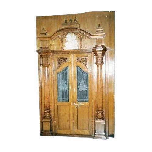 Pooja door glass pooja door manufacturer from bengaluru glass pooja door altavistaventures Gallery