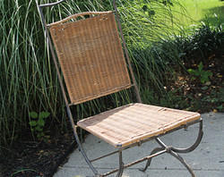 Wrought Iron Cane Furniture